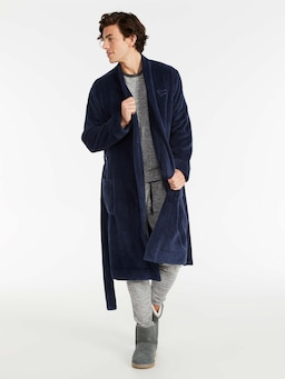 Jacquard Fleece Gown