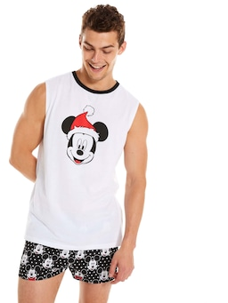 Christmas Mickey Muscle Tank