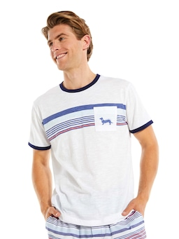 Nautical Stripe Pocket Tee