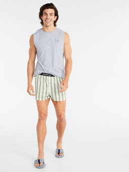 Tipping Stripe Boxer Short