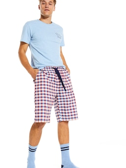 Perry Gingham Sleep Short