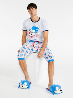 Sonic The Hedgehog Drop Crotch Short