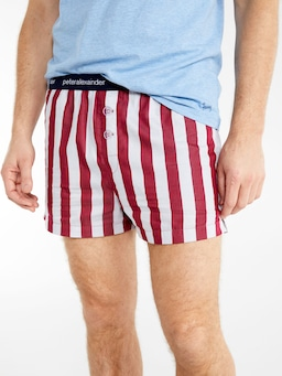 Red Stripe Boxer Short