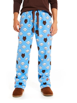 Wolf And Sheep Flannelette Pj Pant