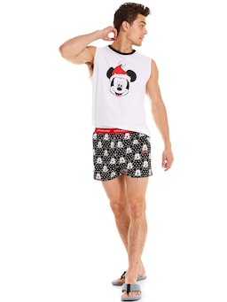 Christmas Mickey Boxer Short Cracker