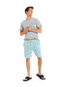Pineapple Cut Off Sweat Short