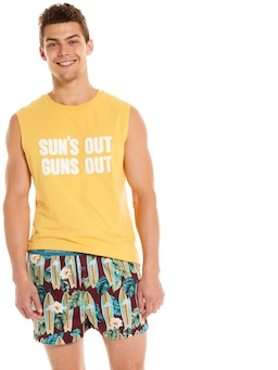 Surfboard Boxer Short
