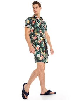 Resort Floral Mid Short