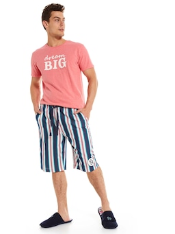 Slater Stripe Sleep Short