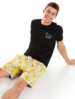 Pokemon Pikachu Cut Off Sweat Short