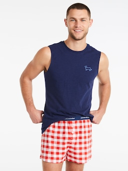 Gingham Boxer Short