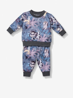 Baby Where The Wild Things Are Digital Track Pj Set