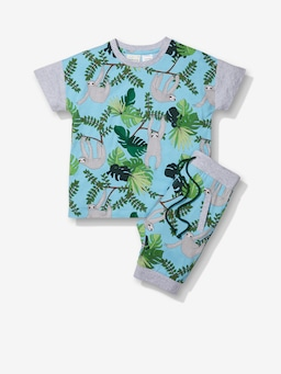 Jnr Boys Sloth Pj Set