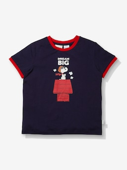 Jnr Boys Navy Snoopy Pj Set