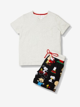 Boys Snoopy Pj Set