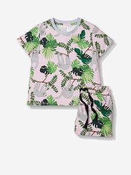 Jnr Girls Sloth Pj Set