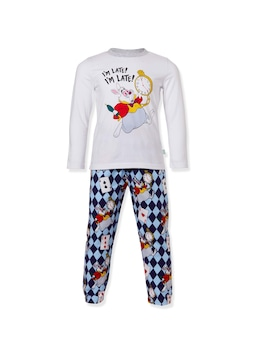 Jnr Boys Disney White Rabbit Pj Set