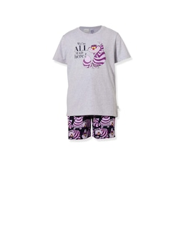 Kids Disney We're All Mad Here Short Pj Set