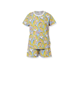 Girls Disney Alice In Wonderland Short Pj Set