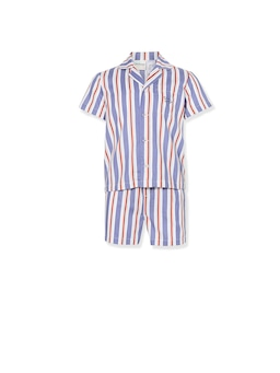 Jnr Boys Harold Stripe Pj Set