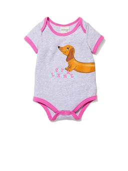 Baby Girls Wonderdog Bodysuit