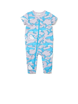 Baby Boys Shark Onesie