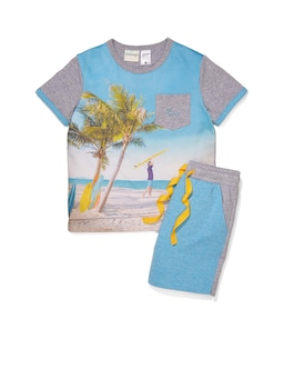 Jnr Boys Surf's Up Pj Set