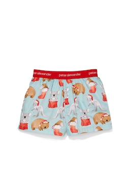 Jnr Boy Aussie Christmas Boxer Short