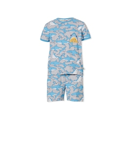Boys Shark Pj Set
