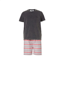 Boys Surf Stripe Pj Set