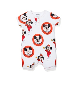 Baby Short Sleeve Disney Mouseketeer Onesie