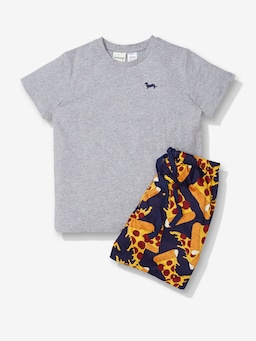 Boys Pizza Pj Set