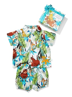Baby Lion King Simba, Timon & Pumbaa Pj Set