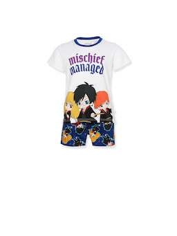 Jnr Kids Harry Potter Anime Pj Set
