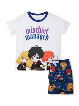 Kids Harry Potter Anime Pj Set