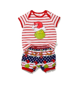 Baby Grinchmas Pj Set