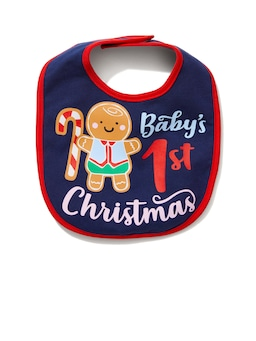 Baby Gingerbread Bib
