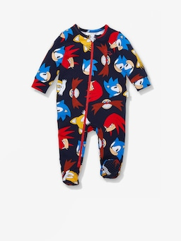 Baby Sonic The Hedgehog Onesie