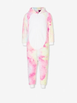 Jnr Girls Unicorn Onesie