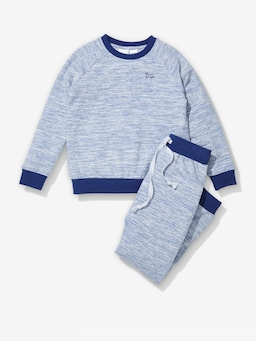 Boys Space Dye Pj Set