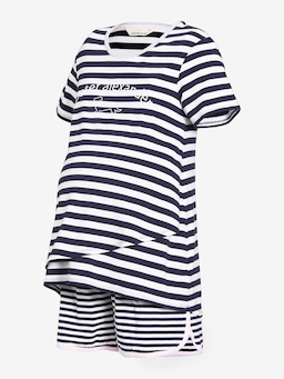 Maternity Stripe Pj Set