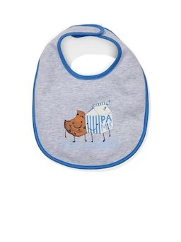 Baby Milk & Cookies Bib