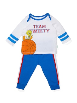Baby Team Tweety Long Pj Set