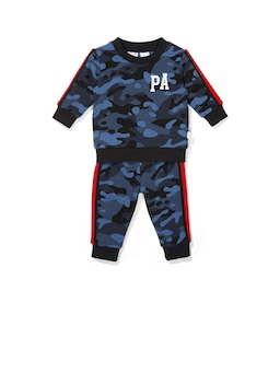 Baby Camo Long Pj Set