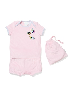Baby Peace Terry Towelling Pj Set