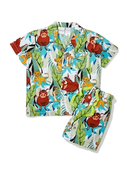 Boys Lion King Simba, Timon & Pumbaa Pj Set