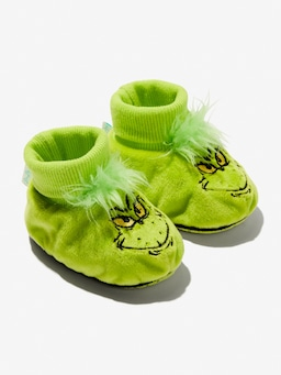 Baby Grinch Bootie