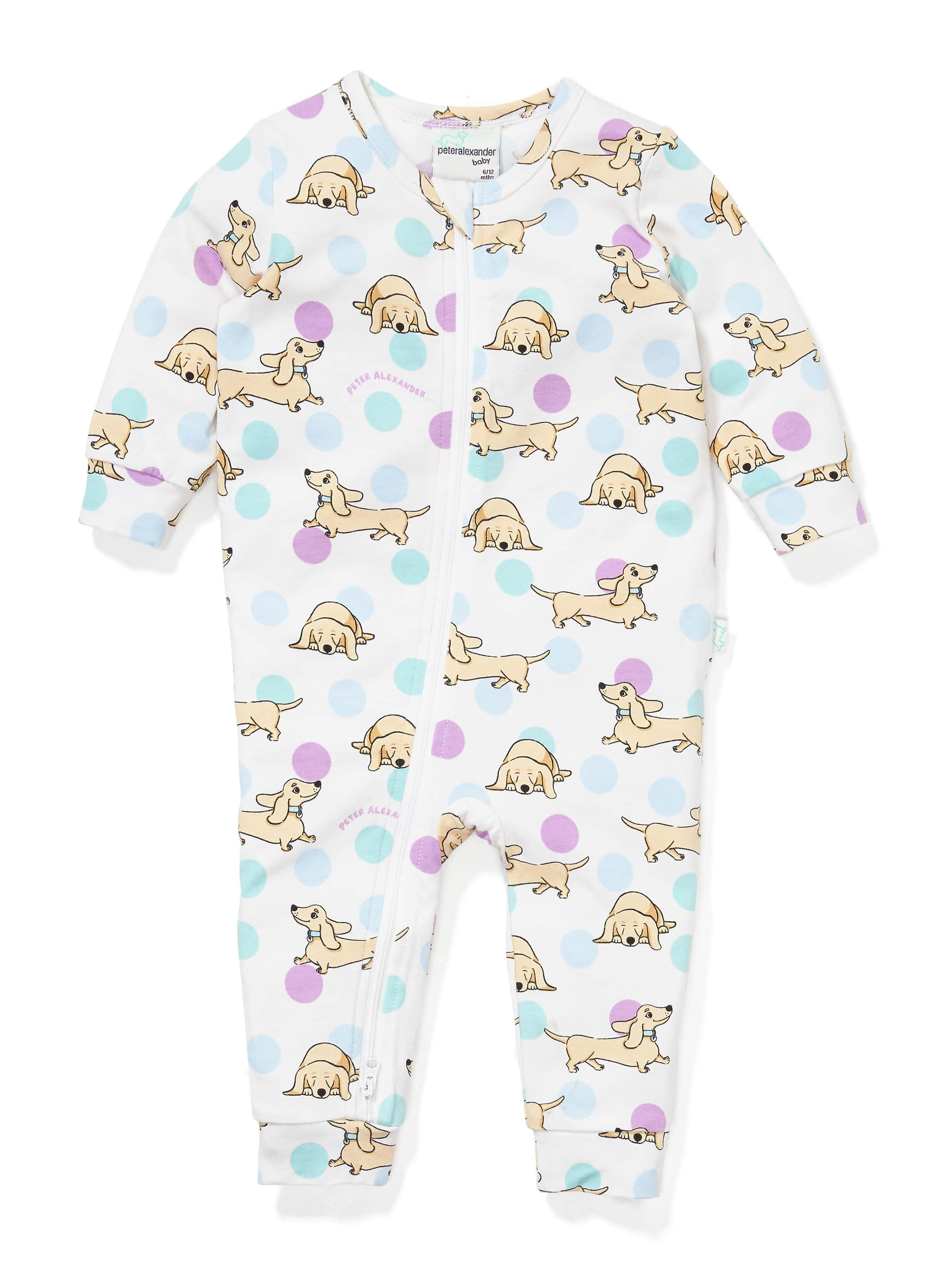 40d64a93f1bd Image for Baby Penny Onesie from Peter Alexander ...