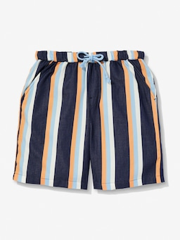 Boys Navy Stripe Short