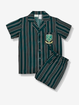 Kids Harry Potter Slytherin Pj Set